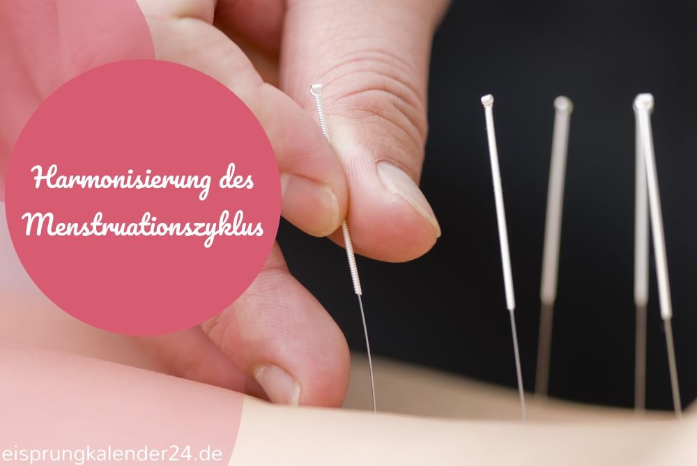Eisprung fördern durch Akupunktur